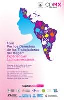 """Foro """"Por los derechos de las trabajadoras del hogar: Experiencias Latinoamericanas"""""""