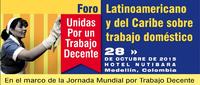 Foro Latinoamericano y del Caribe  sobre trabajo doméstico