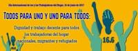 """Global: Día Internacional de los y las Trabajadoras del Hogar, 16 de junio de 2017, la FITH hace un llamado """"Todos para uno y uno para todos: Dignidad y trabajo decente para todos los trabajadoras del hogar nacionales, migrantes y refugiados"""""""