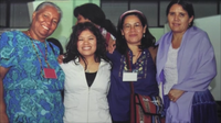 Lima, Perú: Blanca Figueroa y Sofía Mauricio.