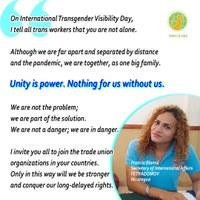 Mundial: Acceso equitativo a los derechos y libertad de violencia para las trabajadoras domésticas transgénero