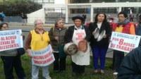 Perú: Trabajadoras del hogar protestaron en la Av. Salaverry
