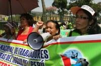 Perú: Trabajadores Domésticos exigieron para la ratificación del C189, liderado por SINTTRAHOL