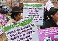 """Piden declarar como no laborable el """"Día de las Trabajadoras del Hogar"""""""