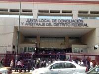 SINACTRAHO entrega su registro en la Junta Local.