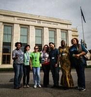 Suiza: la Federación Internacional de Trabajadoras del Hogar está de vuelta en la Conferencia Internacional del Trabajo - Apoyo al Convenio de la OIT para detener la violencia de género