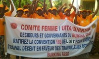 Bukina Faso: Commémoration du 1er mai 2016 marche meeting