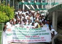 Guinée: SYNEM-GUINEE a organise un atelier sur la sensibilisation de la maladie a virus Ebola