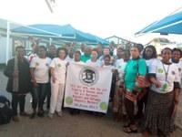 Namibie : La formation des délégués syndicaux NDAWU a commencé par une marche pour commémorer la journée internationale des travailleurs domestiques