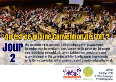 2. Qu'est-ce qu'une Convention de l'OIT ?