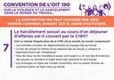 7. Le harcèlement sexuel au cours d'un déjeuner d'affaires est-il couvert par la C190 ?