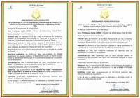 Guinée: Président a signé la Ratification de la Convention 189