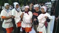 Indonésie: Les travailleurs domestiques grève de la faim d'action