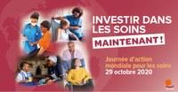 Journée d'action mondiale pour les soins: Mobilisation des syndicats et de la société civile visant à demander des investissements dans les soins pour instaurer des économies plus inclusives, accessibles, résilientes et bienveillantes