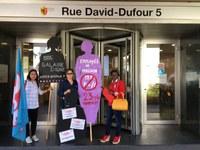 Suisse: Communiqué de presse du 16 juin 2020 -  Reconnaître le travail des employé-e-s domestiques et améliorer leurs droits