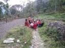Bindu in her remote village